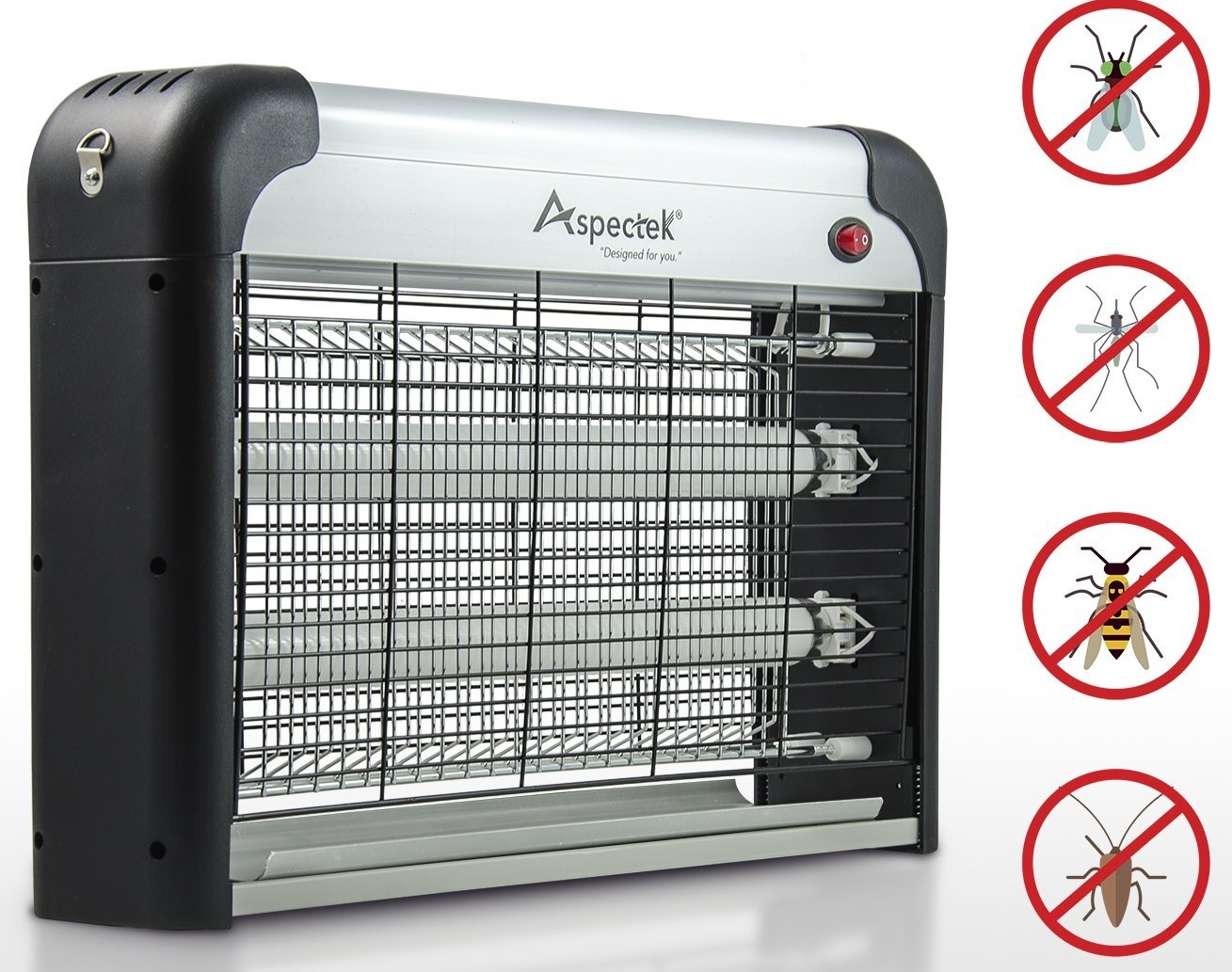 UPGRADED - Aspectek 20W Electronic Bug Zapper